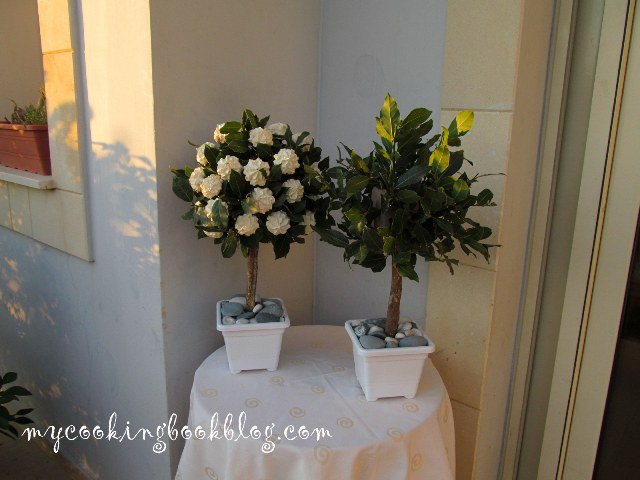 Декоративни дървета с целувки