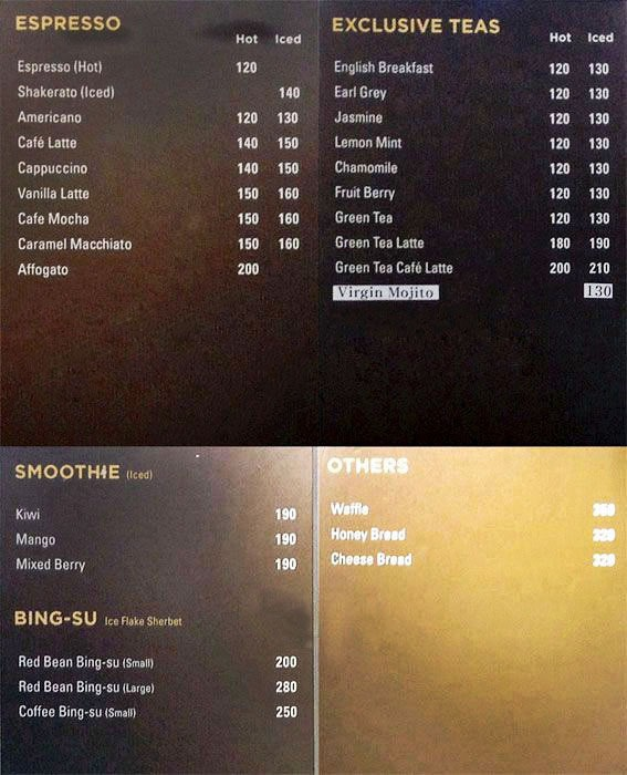 Sibang Bakery menu 23