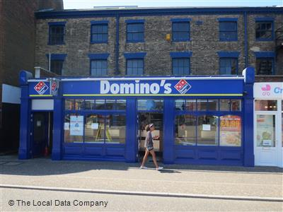 Dominos Pizza On King Street Pizza Takeaway In Great