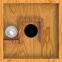 Roll Balls into a hole icon