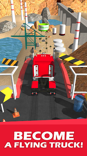 Stunt Truck Jumping screenshot 1