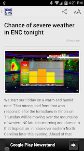 WCTI News Channel 12- screenshot thumbnail