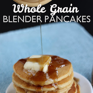 Whole Grain Blender Pancakes
