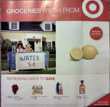 Photo: Before heading out to Target for MaLo underwear, I wanted to check the ad we just got in the mail. Not much to it, so we left for Target.