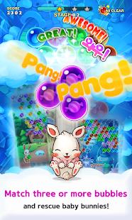 Pop Pop Bunny - Bubble Shooter - náhled