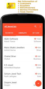 AEJewel.biz Contacts screenshot
