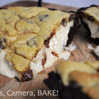 Extreme Salted Caramel Cheesecake Stuffed Cookie Pie Recipe