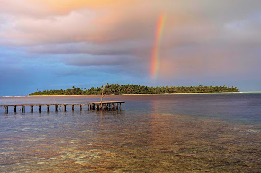 lindblad-south-pacific-rainbow.jpg - Find your rainbow over the islands of the South Pacific on your Lindblad expedition.
