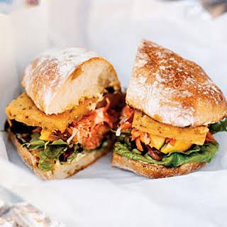 Spicy Chickpea Sandwiches.