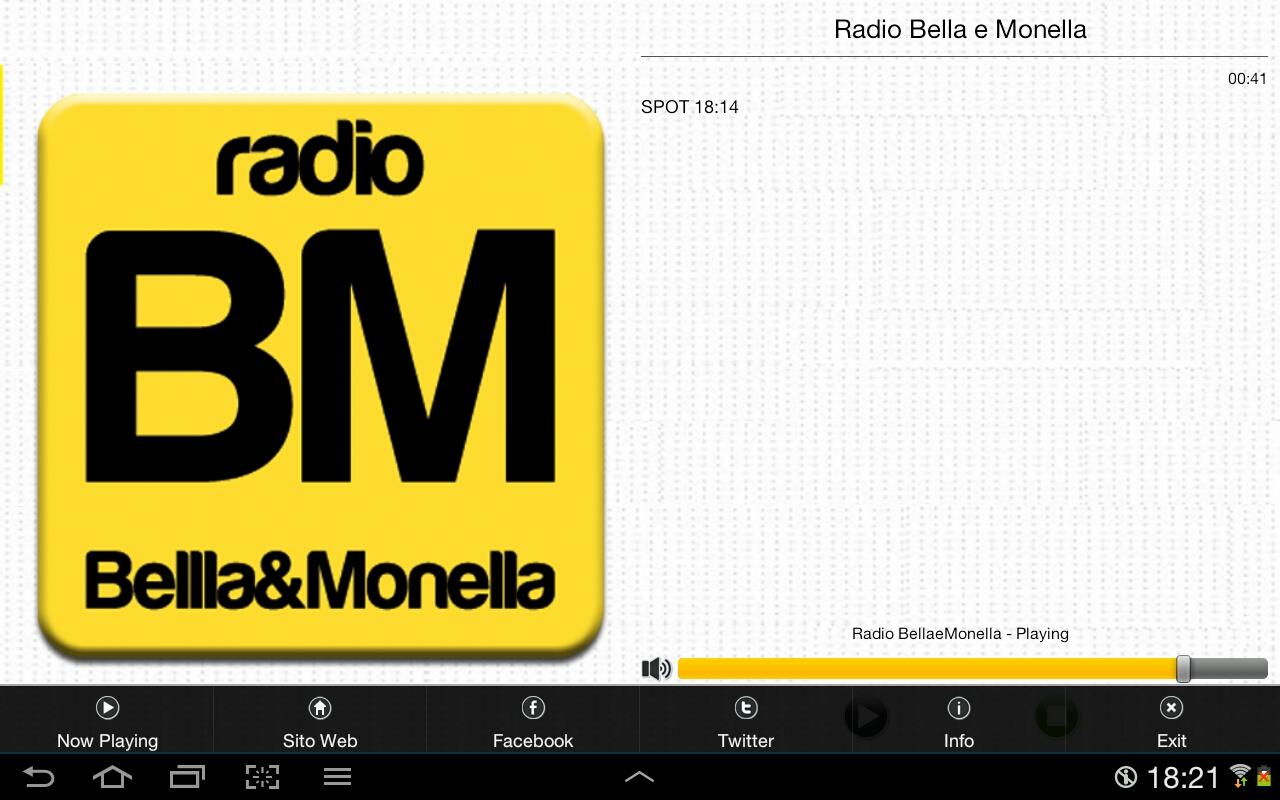 Radio Bellla&Monella- screenshot