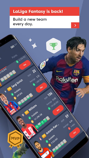 LaLiga Fantasy MARCAufe0f 2021: Soccer Manager 4.4.3 screenshots 2