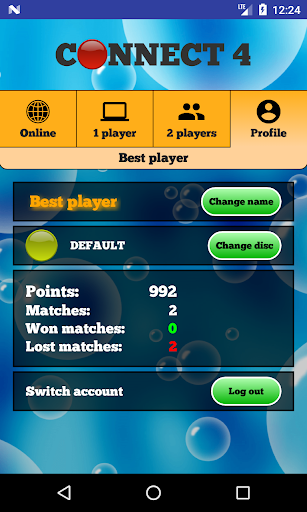Connect 4 Online - Play four in a row 2.4.5 screenshots 4