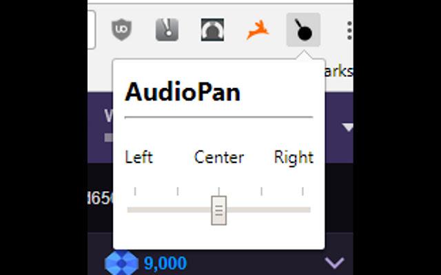 Audio Pan