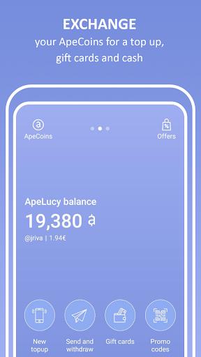 ApeLucy - Top ups 5.4.3 screenshots 1