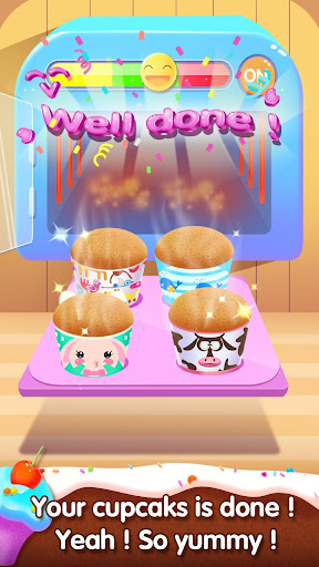 🧁🧁Sweet Cake Shop 3 - Cupcake Fever apklade screenshots 1
