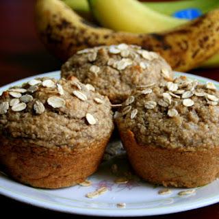 Banana Oatmeal Muffins.