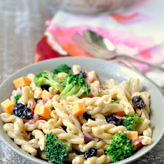 Creamy Broccoli Pasta Salad.