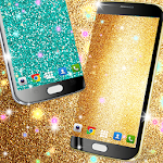 Glitter live wallpaper Icon