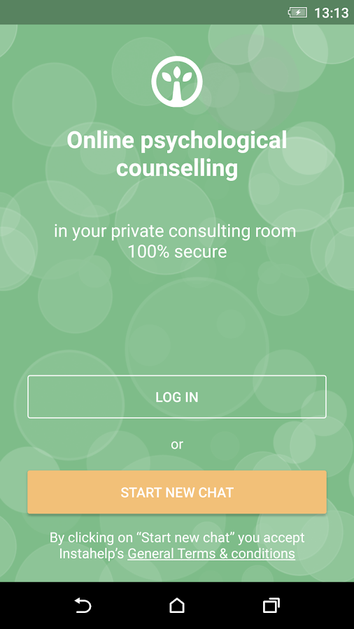 Instahelp Online Counselling- screenshot