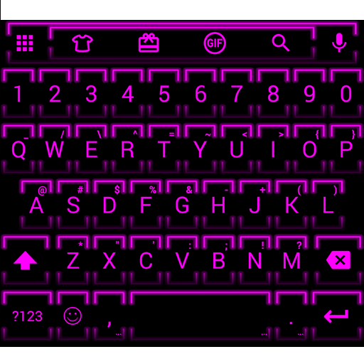 NeonPink Emoji キーボード 個人化 LOGO-玩APPs