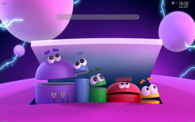Ask the StoryBots Wallpapers Tab Themes