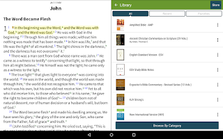 Screenshot of NIV Bible+ by Olive Tree