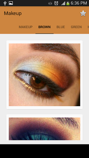 Makeup screenshot 1