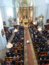 Photo: Ein gut besuchter Sonntagsgottesdienst