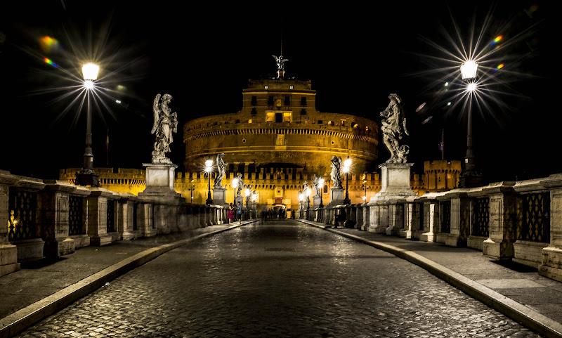 Castel Sant'Angelo, Roma di Viola1