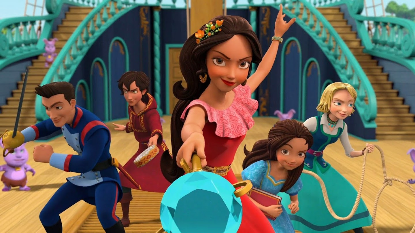 Watch Elena of Avalor live