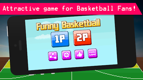 Funny Basketball - 2 Player- screenshot thumbnail