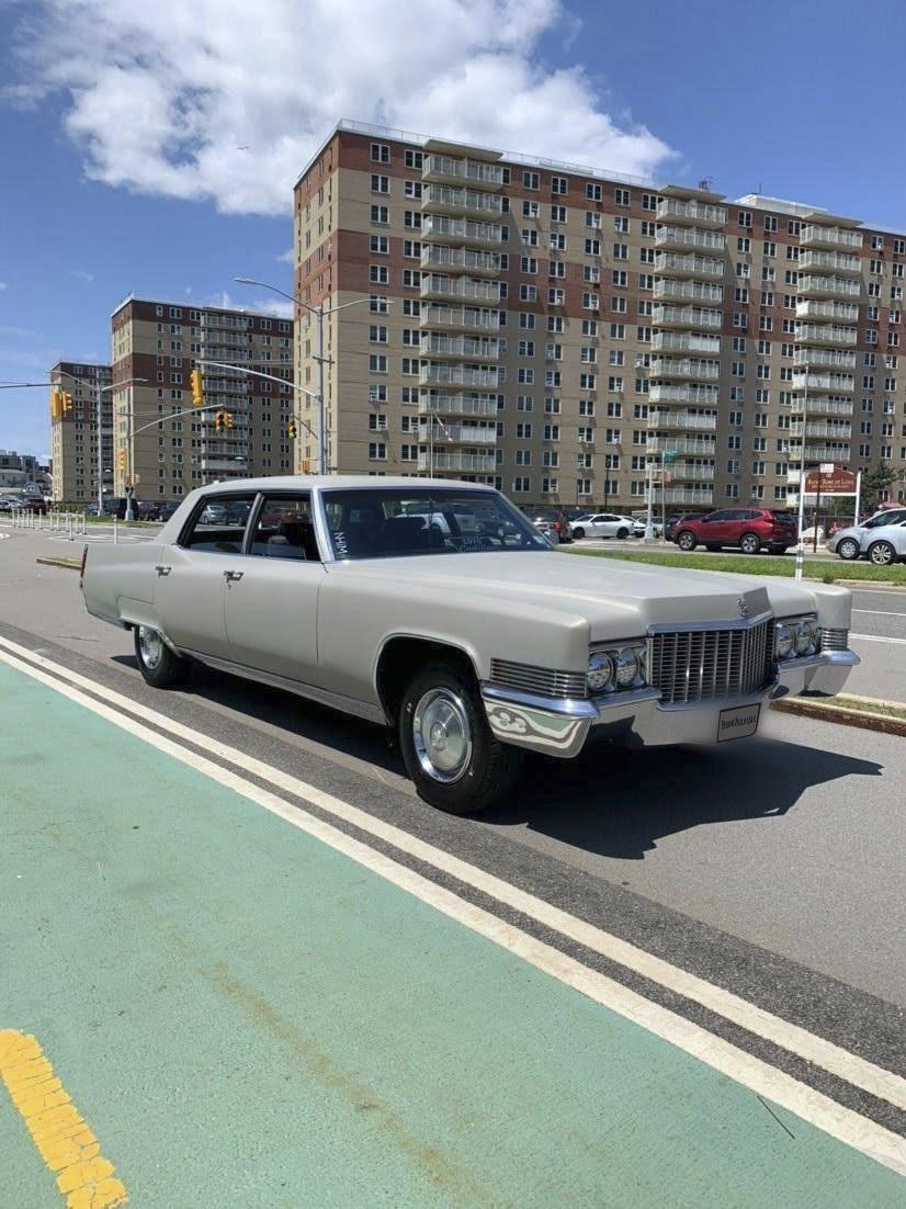 Cadillac Fleetwood Brougham Hire Far Rockaway