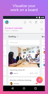 Asana: organize team projects- screenshot thumbnail