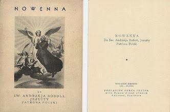Photo: Wydanie polonijne, 1938 r. Wydawca posłużył się tu grafikami niemieckiego jezuity, kard. Augustusa Bea, zamieszczonymi w serii pocztówek włoskich z 1938 r.