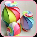 Paper crafts handcrafts icon