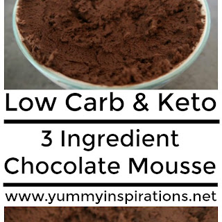3 Ingredient Chocolate Mousse.