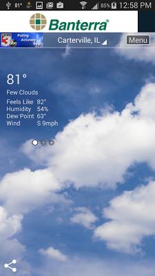 WSIL Weather - screenshot