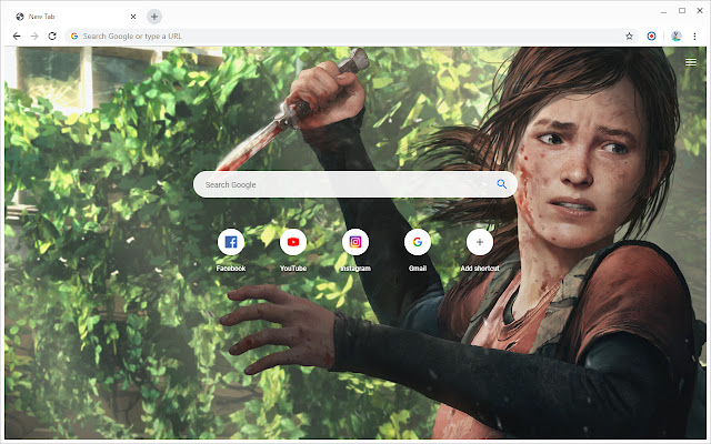 New Tab - The Last of Us Part 2