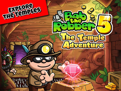 Bob The Robber 5: Temple Adventure by Kizi games u0635u0648u0631 1