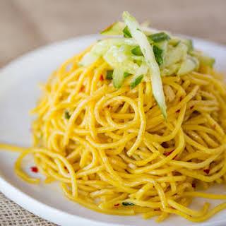 P.F. Chang's Garlic Noodles.