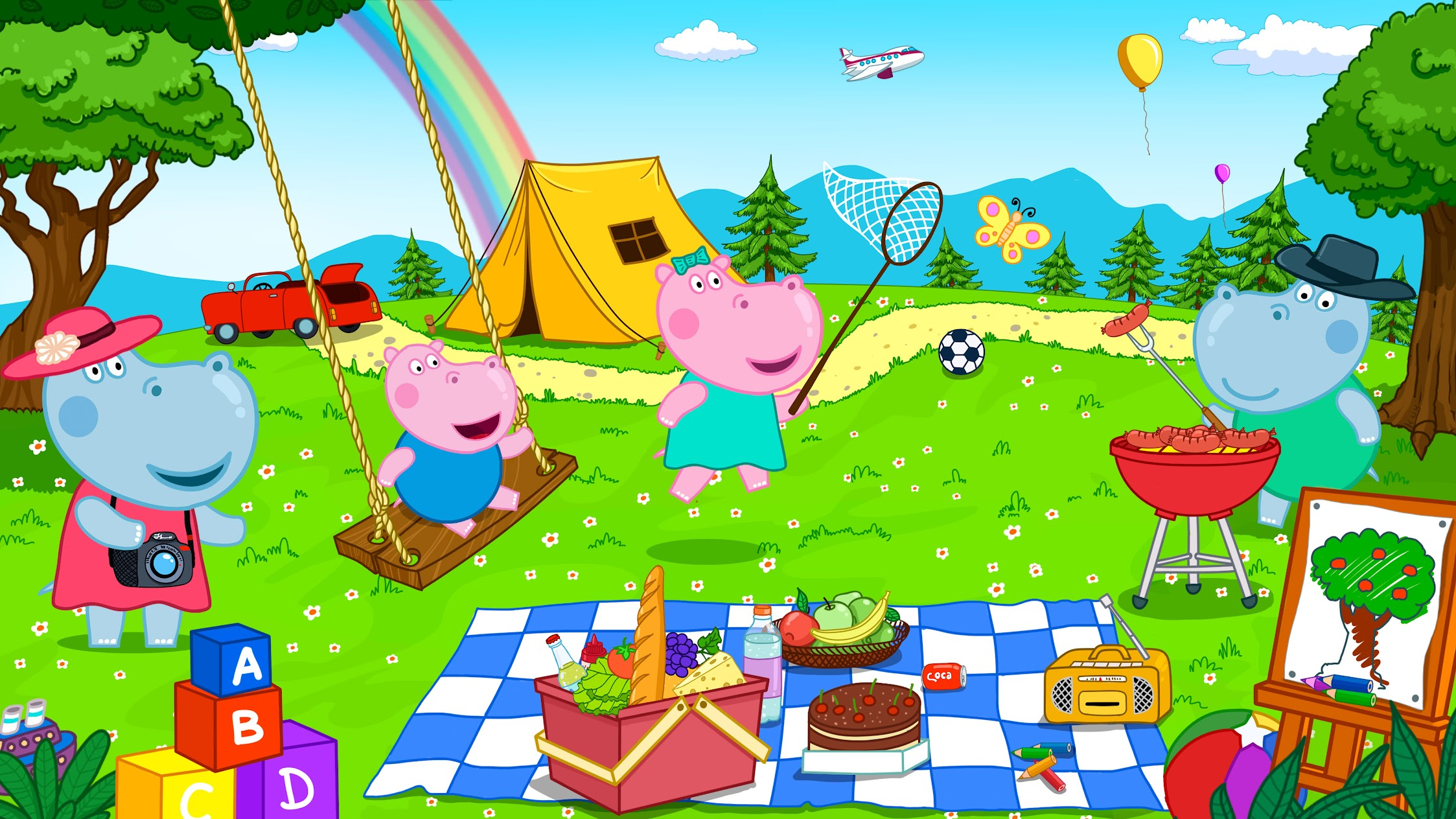Hippo Kids Games