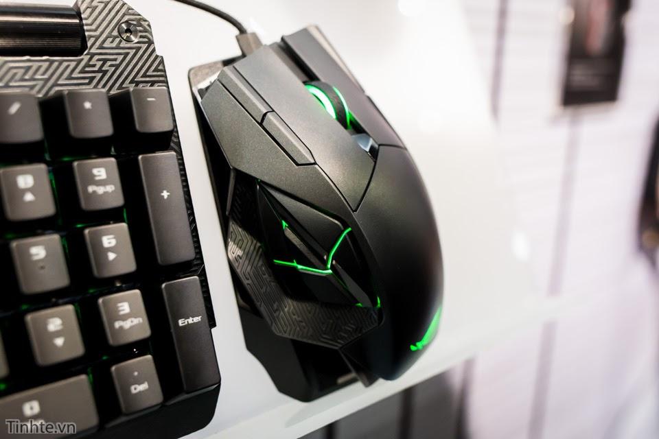 [Computex 2016] Trên tay bộ gaming gear mới nhất dành cho game thủ của ASUS