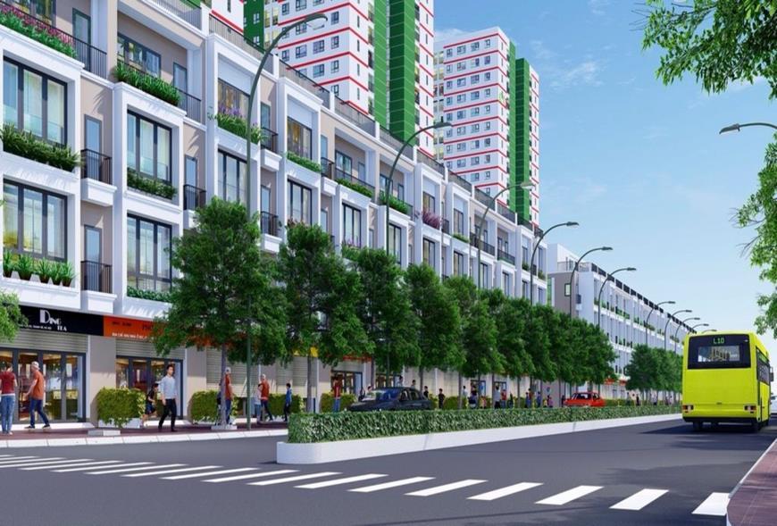 Giá bán nhà tại dự án IEC Complex
