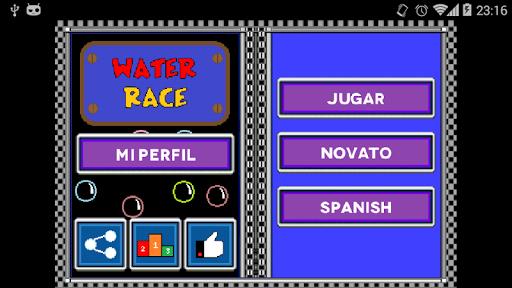 Carreras sobre agua