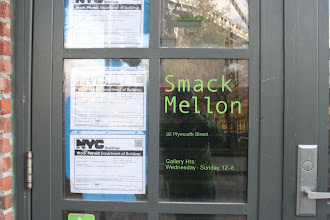 Photo: Smack Mellon…  It's just a funny name.  It's a gallery to help support women and mid-career artists.