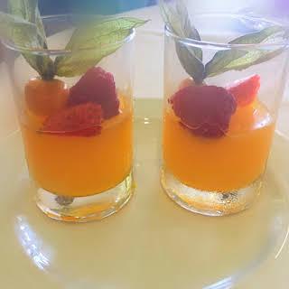 Orange Jelly Without Gelatin.