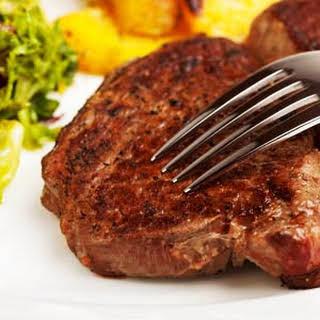 Restaurant-Style Marinated Sirloin Steaks.