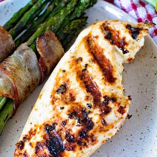 Caesar Grilled Chicken Breasts Recipe