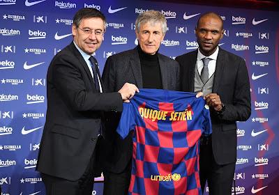 """Nieuwe coach van Barcelona: """"Gisteren liep ik nog langs de koeien in mijn dorp, nu ben ik coach van de beste spelers ter wereld"""""""