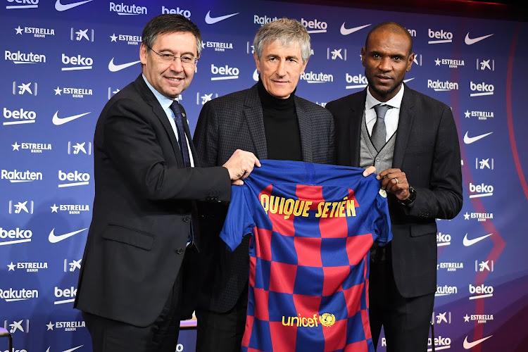 """Quique Setién : """"Je n'aurais jamais pu imaginer que je serais un jour entraîneur du FC Barcelone"""""""